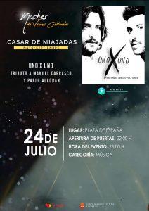 Tributo a Manuel Carrasco y Pablo Alborán