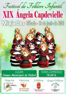 """XIX Festival de Folklore Infantil """"Ángela Capdevielle"""""""